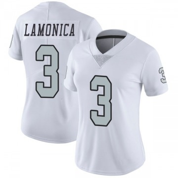 Women's Oakland Raiders Daryle Lamonica White Limited Color Rush Jersey By Nike