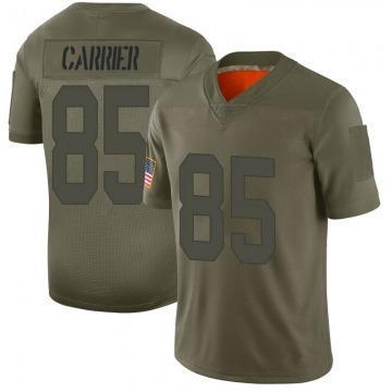 Youth Oakland Raiders Derek Carrier Camo Limited 2019 Salute to Service Jersey By Nike